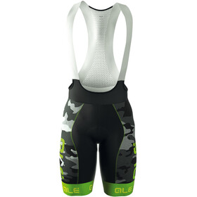 Alé Cycling Graphics PRR Camo Bib Shorts Heren grijs/groen